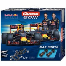Carrera Go! Red Bull Racing Racebaan Max Power 5,3m