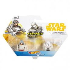 Hot Wheels Star Wars Battle Rollers 2-Pack Rio Durant - Range Trooper
