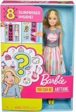Barbie You can be anything Surprise doll 8 verrassingen