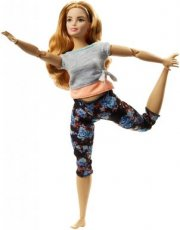 Barbie Made to Move Curvy doll with Auburn Hair