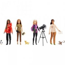 Barbie Career dolls National Geographic pop