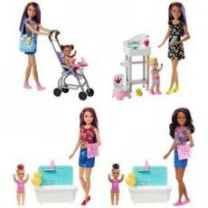 Barbie Skipper Babysitters Inc Speelset + pop