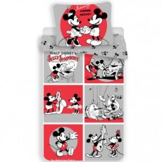 Disney Mickey Mouse & Minnie Mouse Dekbedovertrek Classics 1 persoons