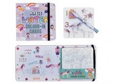 Floss & Rock Fairy Unicorn Water Kleur Kaarten