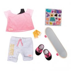 Our Generation Skateboarder Fly Outfit