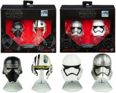 Star Wars The Black Series Titanium Series helmen 2-pack