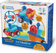 Learning Resources 1-2-3 Built It auto vliegtuig boot