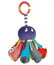 Mamas & Papas Babyplay 9 int features Dangly Octopus 0+