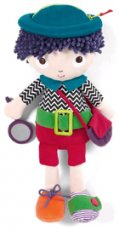 Mamas & Papas Babyplay Learn to dress Max Doll 0+
