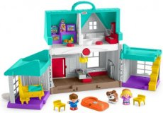 Fisher-Price speelset Little People Huis handige helpers