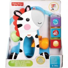 Fisher-Price Roller Blocks Tumblin 'Zebra