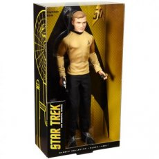 Barbie Collector 50th Anniversary Star Trek Captain Kirk Black Label
