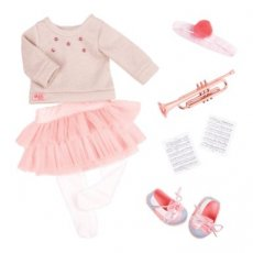 Onze generatie Fashion Notes Deluxe Outfit