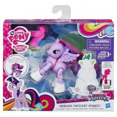 My Little Pony Action Play Pack Poseable Pony Ice Skating Twilight Sparkle