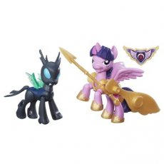 My Little Pony Guardians of Harmony Princess Twilight Sparkle v. Changeling