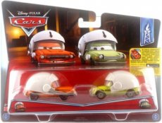 Disney Cars 2-pack Grem with helm & Acer With Helm