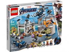 Lego MARVEL Super Heroes Avengers Strijd bij de basis #76131