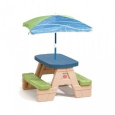 Step2 picknicktafel Playful Picnic met parasol 94 cm