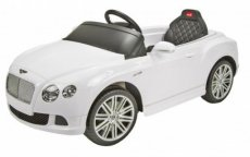 Injusa Bentley GTC accuvoertuig 12 Volt R/C wit