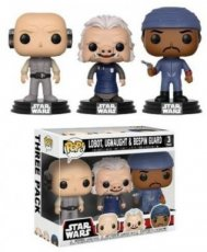 Funko POP! Star Wars 3-Pack Cloud City Lobot, Ugnaught & Bespin Guard Exclusive 40 years Star Wars